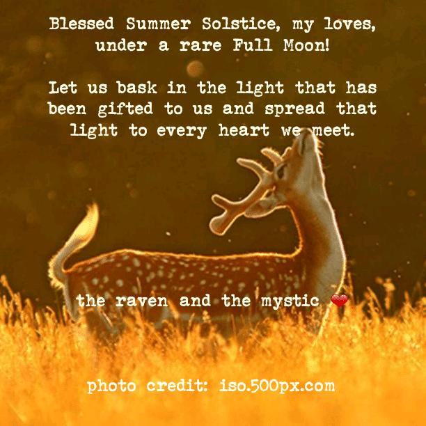 Blessed Summer Solstice!