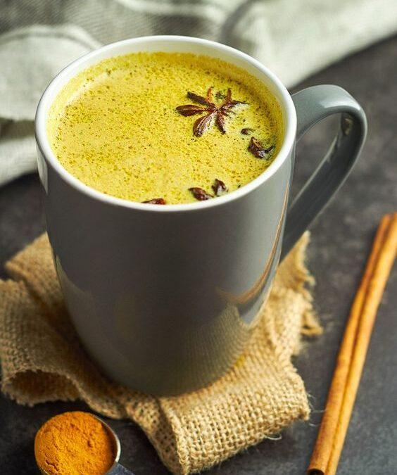 Ayurvedic Golden Milk for Cold Winter Days. {Vegan Recipe}