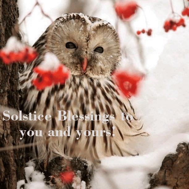 Solstice Blessings!