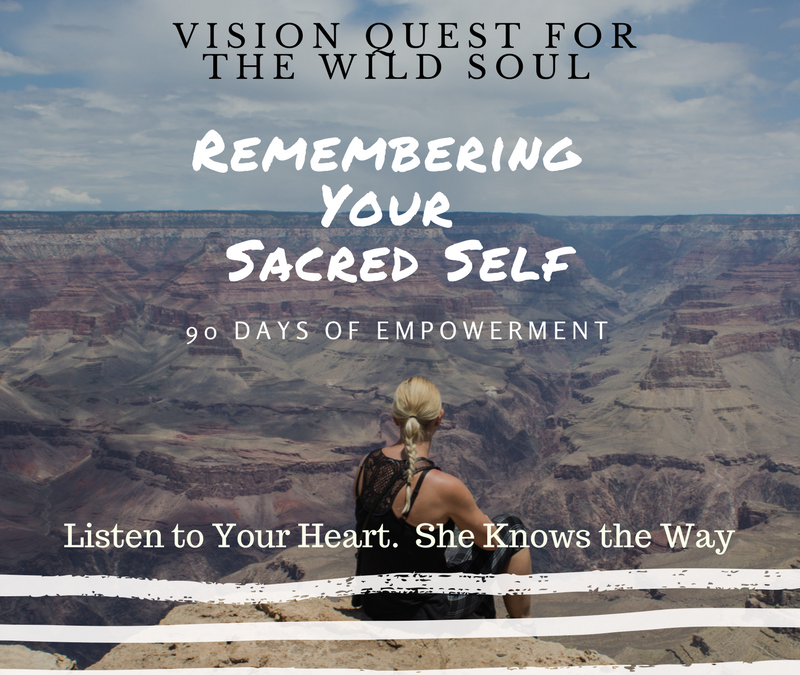 Are You Ready For Your Vision Quest?
