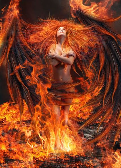 She Fell Into the Fire. A May Day Poem.