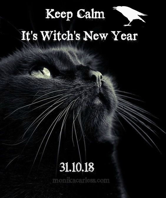 Keep Calm! It's Witch's New Year.