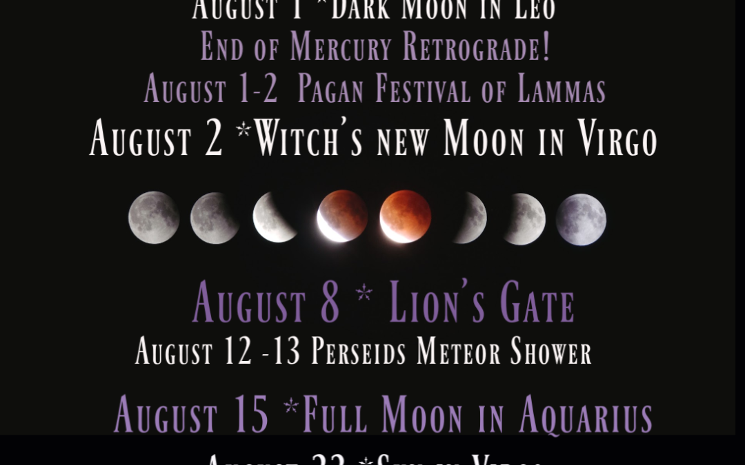 Are You Ready for This? August Cosmic Magic.