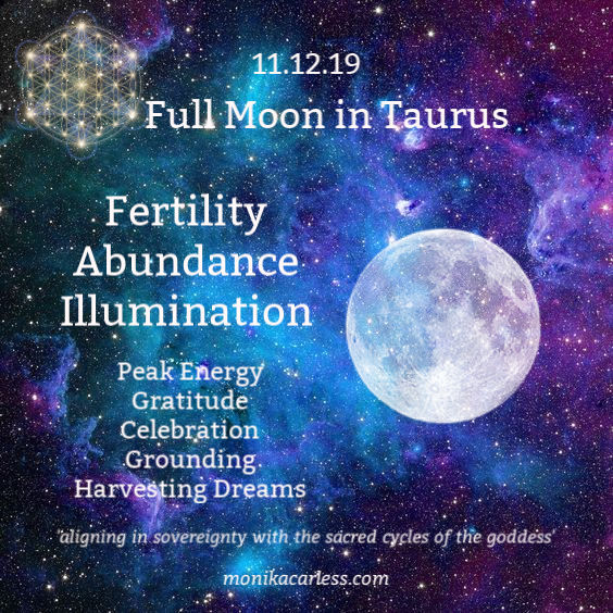 Full Moon in Taurus opposing Mercury Retrograde plus 11:11. Staying Grounded amidst the Chaos.