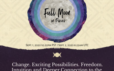 September's Full Moon in Pisces. A 'Down the Drain' Water Release Ritual.